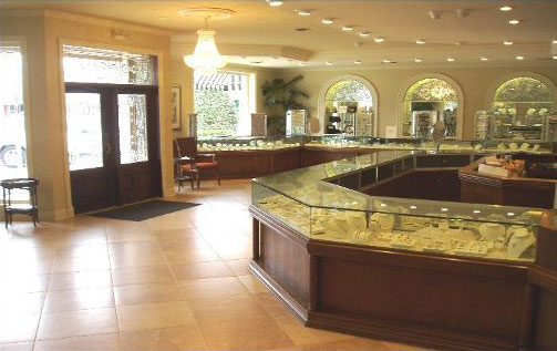 Manning Jewelry Store Interior